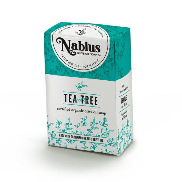 organic tea tree olive oil soap