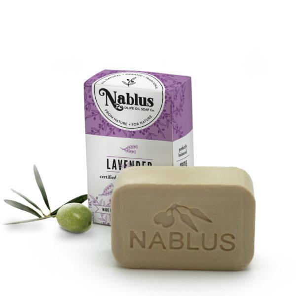 natural lavender olive oil soap