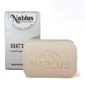 nablus goat's milk soap