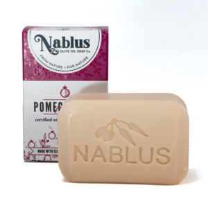 nablus pomegranate soap